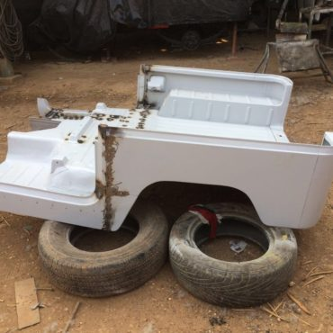 3/4 FJ40 Replacement Tub - Welded option